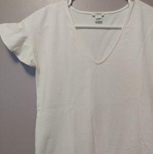 J. Crew flutter cap sleeve t-shirt